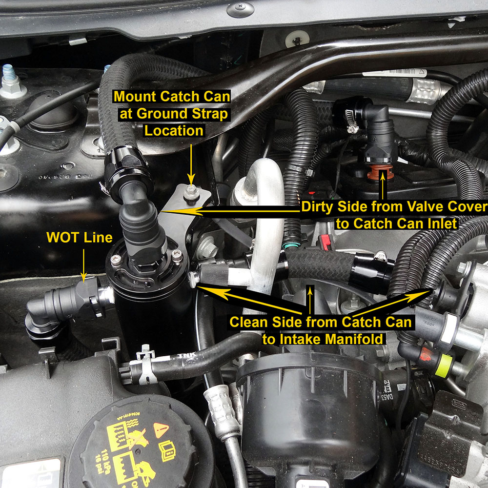 hight resolution of replacing pcv valve on 2003 ford tauru engine diagram of
