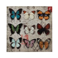 Butterfly Collage 3-D Wall Art Wholesale at Koehler Home Decor