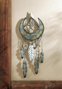 Crescent Moon Dream Catcher Wall Decor Wholesale at ...
