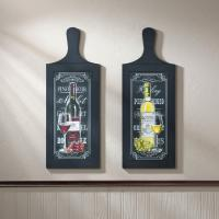 Wine Bottle Wall Art Duo Wholesale at Koehler Home Decor