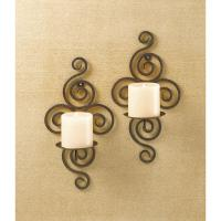 Wrought Iron Candle Wall Sconces Wholesale at Koehler Home ...
