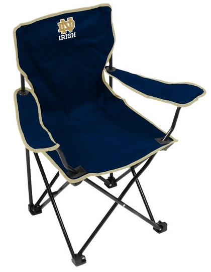 notre dame chair dining slipcovers fighting irish youth