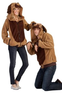 Adult Devin the Dog Costume Hoodie - Candy Apple Costumes ...