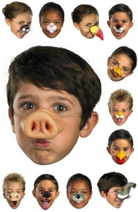 Animal Nose Mask - Candy Apple Costumes - Funny Costumes