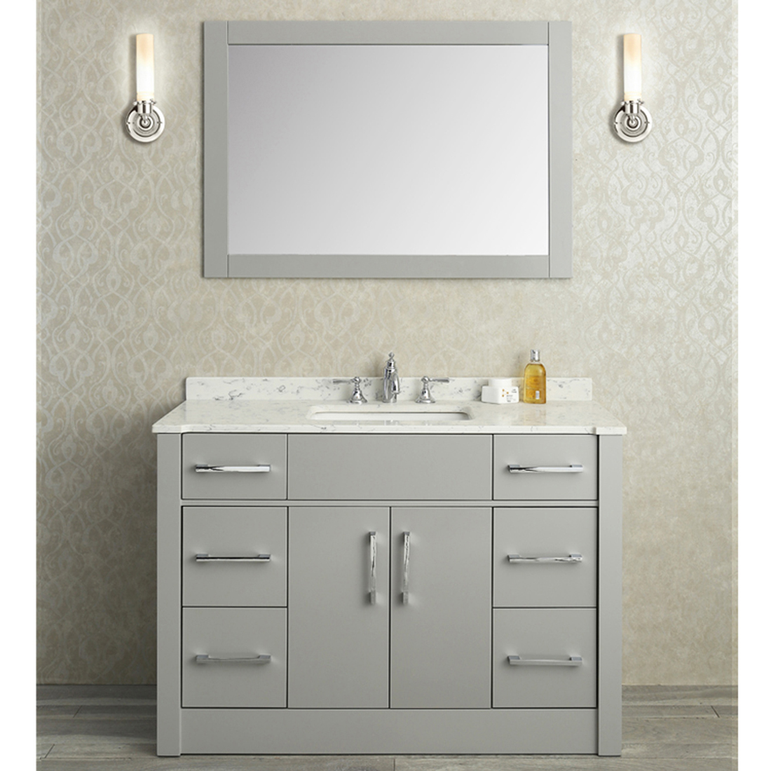Seacliff by Ariel Radcliff 48 Single Sink Vanity Set in