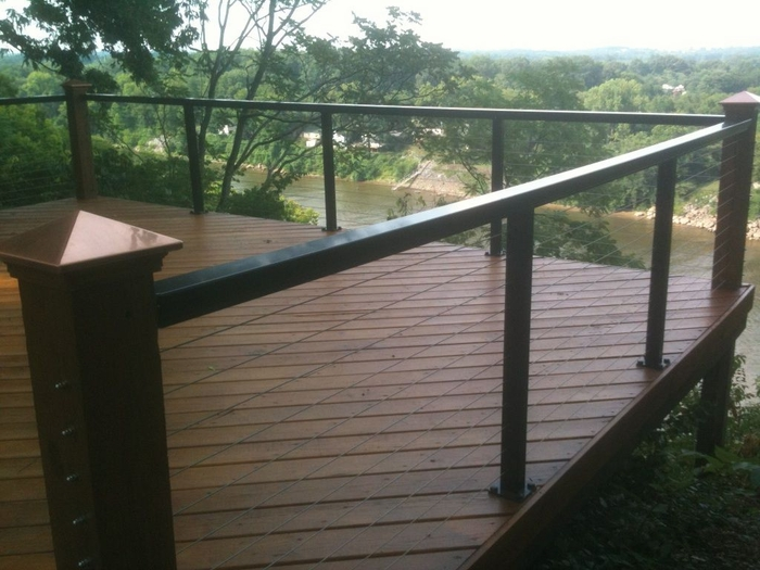Cable rail aluminum railing systems from Stainless Cable