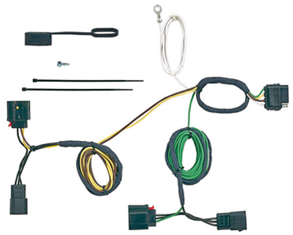 pico 6955pt litemate vehicle to trailer wiring kit 2007-2011 jeep jeep  grand cherokee 2011-2012 trailer wiring