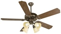 Craftmade (K10430) Outdoor Patio Ceiling Fan Kit in Brown ...