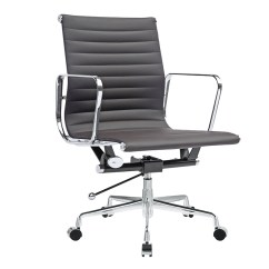 Eames Aluminum Management Chair Replica Covers Hire Cost - Ribbed Office