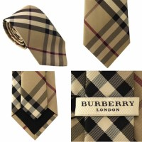 Authentic Burberry London Check Silk Tie Rohan 3643036