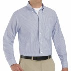 Blue Long Sleeve Button Down Shirts for Men