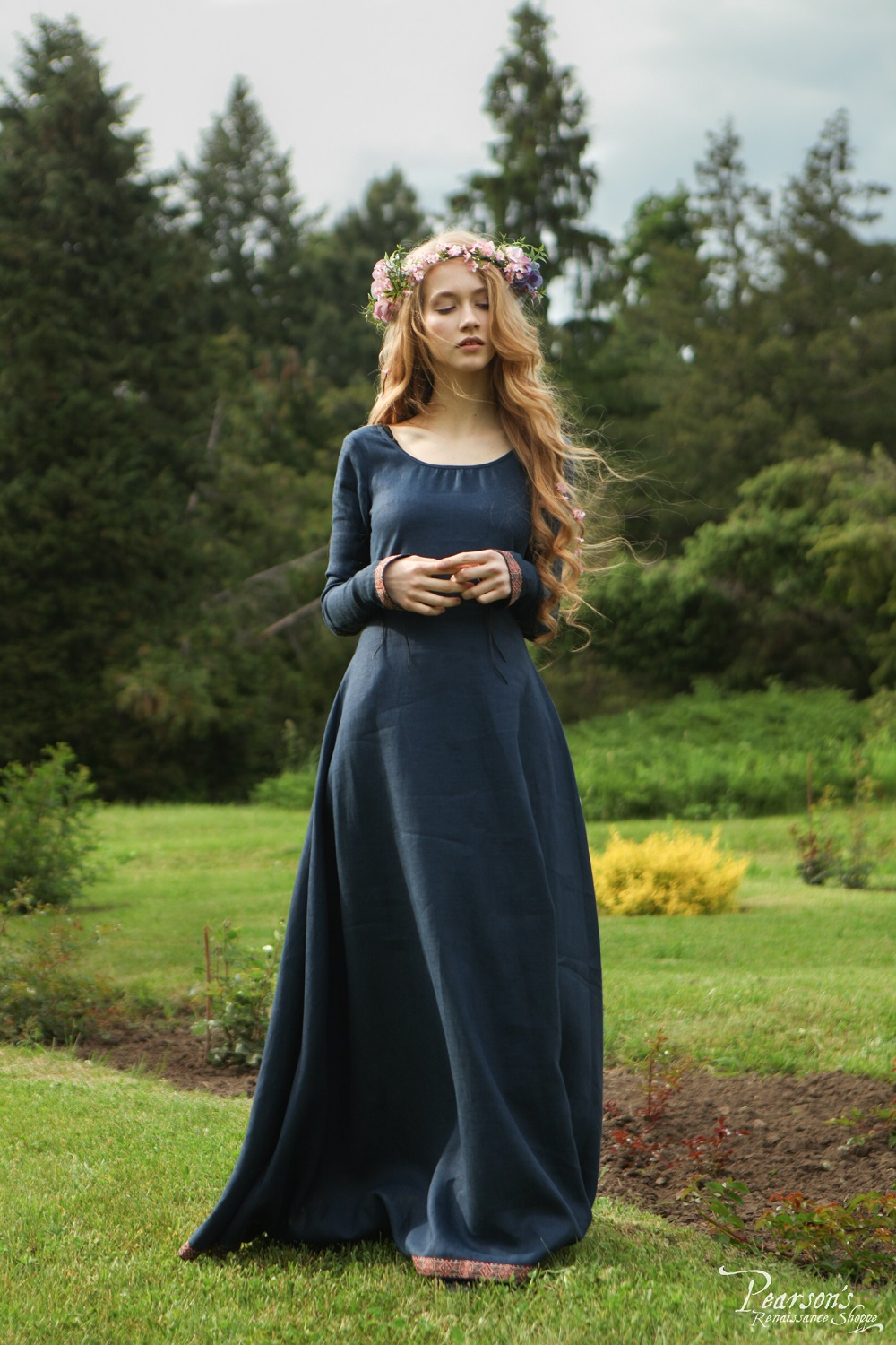 Bridesmaid Dress Secret Garden  medieval renaissance themed wedding