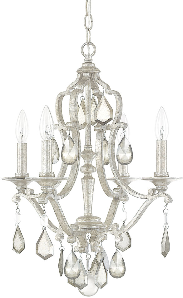 Capital Lighting 4184as Pc Blakely Antique Silver Mini Chandelier Loading Zoom