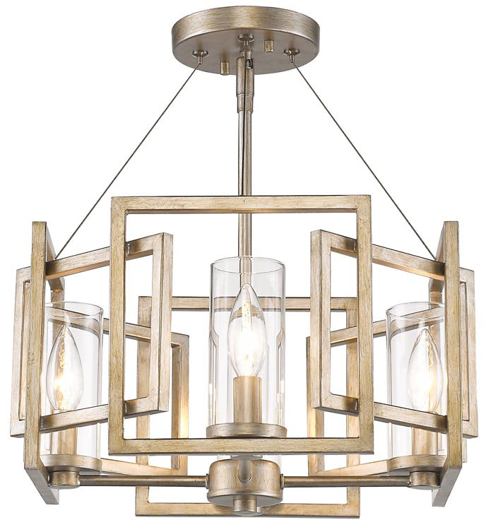 Brushed Gold Light Fixture