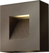 Hinkley 1647BZ-LED Luna Contemporary Bronze LED Exterior ...
