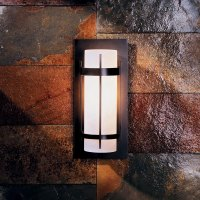 Hubbardton Forge 305892 Banded LED Outdoor Wall Sconce ...