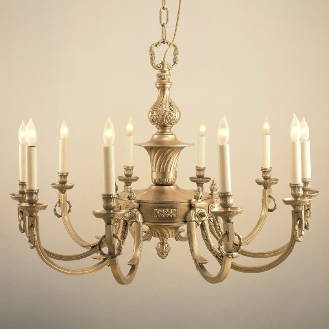 Jvi Designs 570 Traditional 32 Inch Diameter 10 Candle Antique Brass Chandelier Loading Zoom