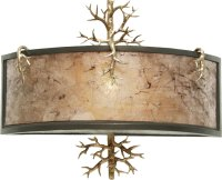 Kalco 6616 Oakham Rustic Bronze Gold Wall Sconce Lighting ...