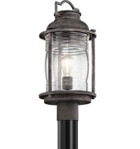 Kichler 49573WZC Ashland Bay Retro Weathered Zinc Outdoor
