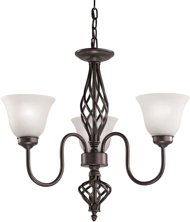 Thomas 2203ch 10 Santa Fe Oil Rubbed Bronze Mini Hanging Chandelier Loading Zoom
