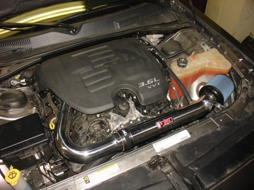 small resolution of 2011 2014 dodge charger v6 injen air intake system