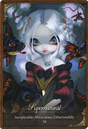 Les Vampires Oracle Deck Jasmine Becket Griffith Gifts