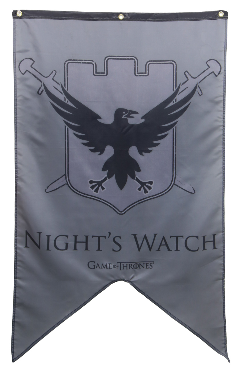 Nights Watch Banner Game Of Thrones Flags Amp Banners