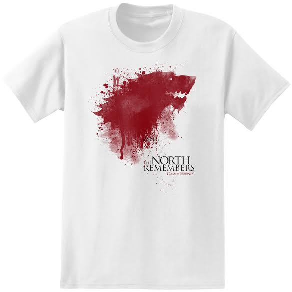 The North Remembers T Shirt Game Of Thrones Clothing