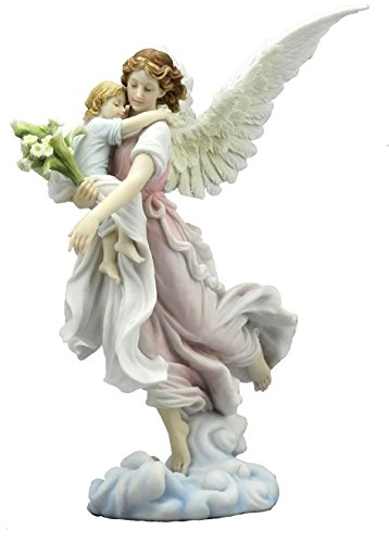 The Guardian Angel With Child Figurine Angel Gifts