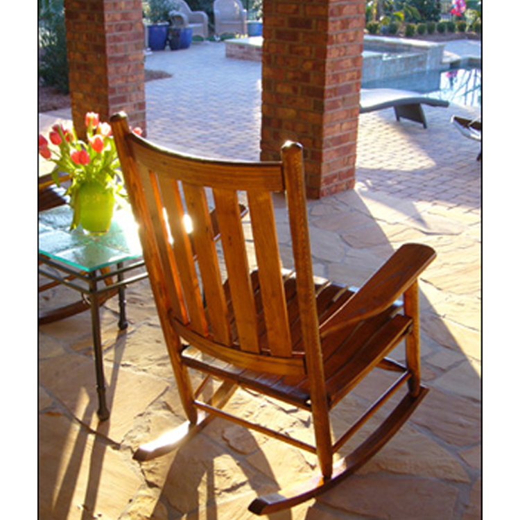unfinished adirondack chair black metal chairs outdoor rocking chairs: 5 farm road chair, custom rockers -