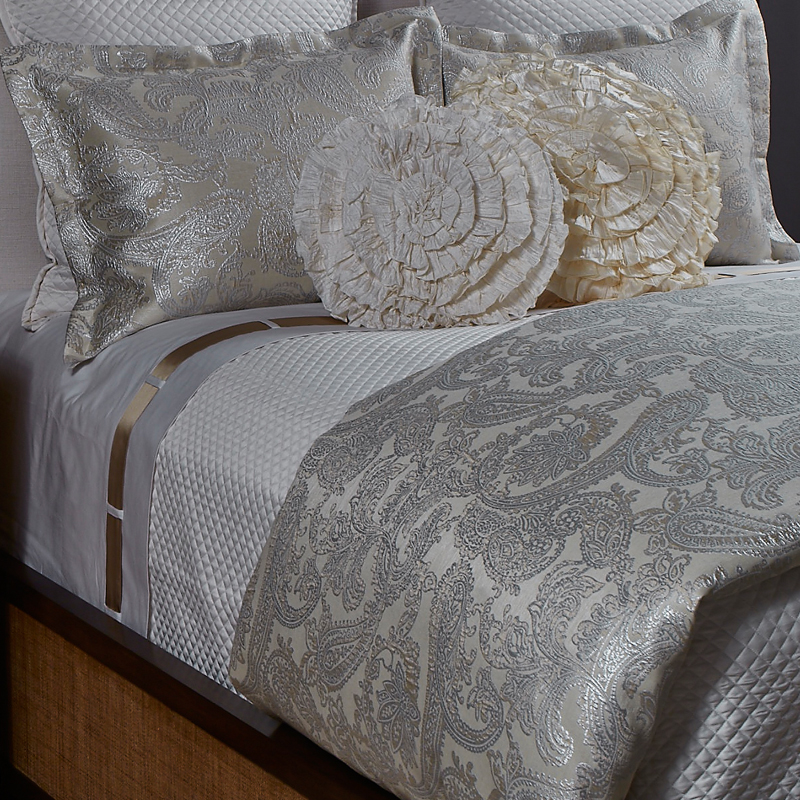 queen ann chairs camp rocking chair arabesque duvet set in platinum, the art of home bedding by gish, or king ...