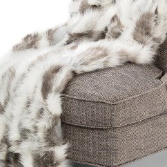 Gray Rocking Chair For Nursery Grey Glider And Ottoman 56 X 72 Bryant Faux Fur Throw By Michael Amini - Throws