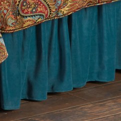 Rustic Accent Chairs Covers For Dining Hiend Accents San Angelo Comforter Set With Teal Bedskirt - Bedding Collection