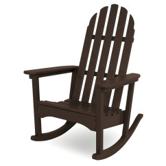 Polywood Classic Adirondack Chair Recliner Protector Cover Rocking Chair, Chairs, Outdoor Chairs -