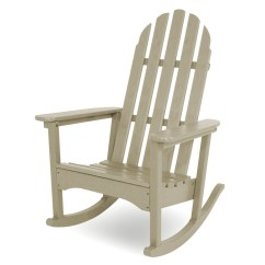 Polywood Classic Adirondack Chair Bar Seat Covers Rocking Chair, Chairs, Outdoor Chairs -