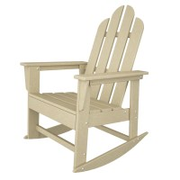 POLYWOOD Long Island Rocker, Adirondack Rocking Chair ...