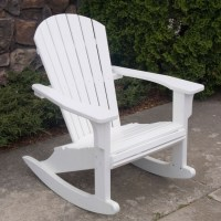 Polywood Seashell Rocking Chair, Adirondack Rocking Chair