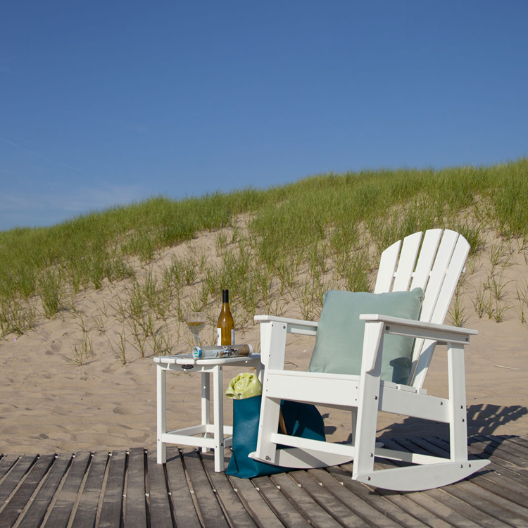 outdoor rocking chairs for sale bunnings stackable chair covers polywood south beach chair, adirondack -