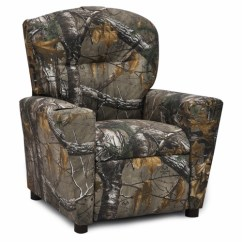 Kids Recliner Chair U Shaped Legs Camouflage For Child S Camo Recliners