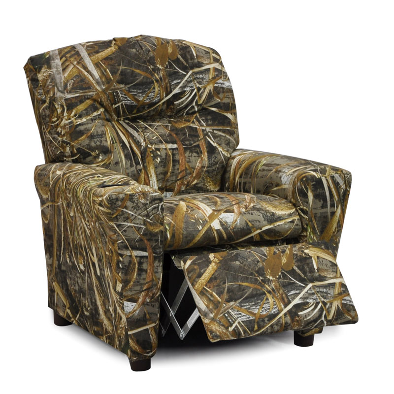 Camouflage Recliner for Kids Real Tree Max5 Camo  Kids