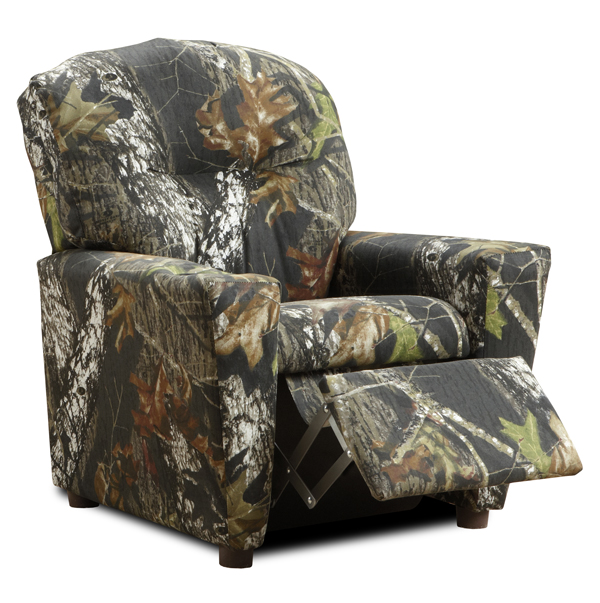 Camouflage Recliner for Kids Childs Camo Recliner Chair