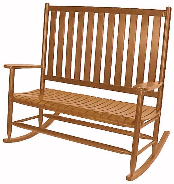 Double Rocking Chairs WoodenCustomDouble Porch Rockers