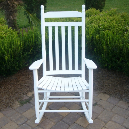 white wood rocking chair alite monarch canada outdoor chairs for adults ships quick