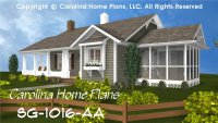 Small Cottage Style House Plan SG-1016 Sq Ft | Affordable ...
