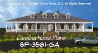 Large Southern Plantation Style House Plan SP-3581 Sq Ft ...