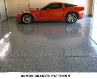Garage Floor Epoxy Kit With Real Granite Look | ArmorGarage