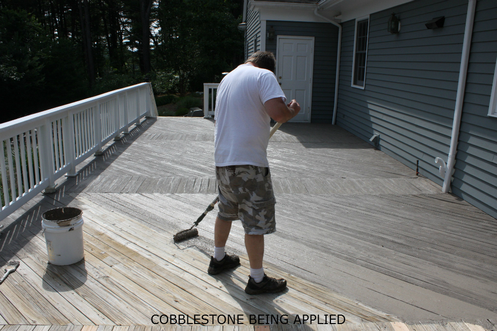 Renew Deck Coating For Concrete And Wood Deck Restoration