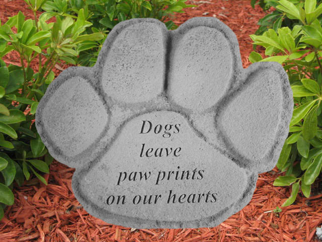dog memorial stone dogs