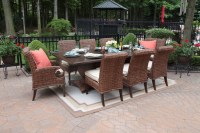 Aerin Collection All Weather Wicker Luxury Patio Furniture ...