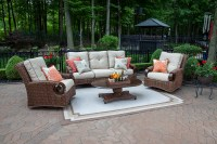 The Aerin Collection 5-Piece All Weather Wicker Patio ...